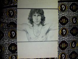 Jim Morrison by bellamyribeiro