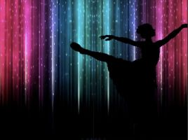 Ballerina Silhouette by 123CoolCookie