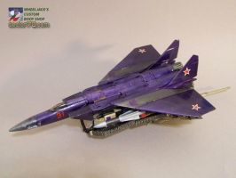 Blitzwing - Jet Mode by WheelJack-S70