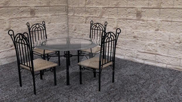 Dining Room Set by GingerBeez