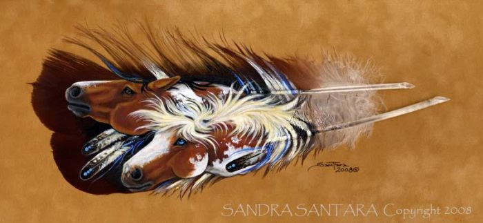 Indian Paint by ssantara