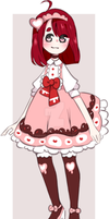 |CLOSED adoptable| Sweetness by xaradopts