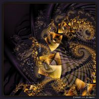UF09 Gold Spiral by Xantipa2