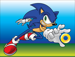 sonic vectorization by thefallenone3296