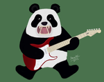 Panda rock! by MrMaidx