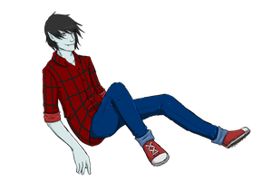 Marshall Lee by SkyLandWarrior