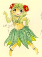 Humanized Pokemon: Bellossom by FuneralDyingheart