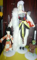 Inuyasha dolls-Made by me by Iziume89
