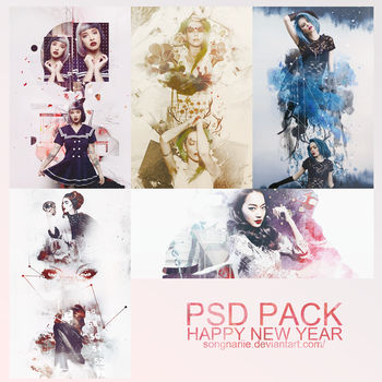 PSD PACK HAPPY NEW YEAR by songnariie