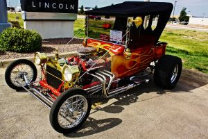Ford Hot Rod by BAGilligan