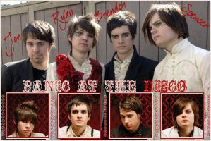 Panic At The Disco Banner by Katie-Rose87