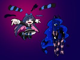 Luna and Stocking Color by NivRozs