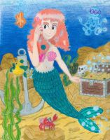 """Madonna """"The Mermaid"""" by Sketchman147"""