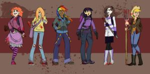 Mlp Zombies by LizzieDaKittie