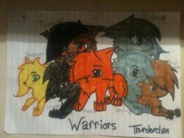 Warriors by spottedstripe12