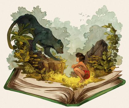 The Jungle Book by Picolo-kun