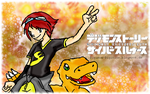Digimon Story: Cyber Sleuth by BanchouLeomon