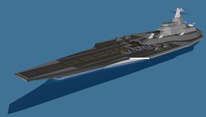 UNAF Squall Class Carrier by ProjectZephyr