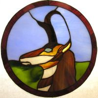 Pronghorn circlet by Ryaskgoldengryph