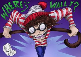 where d hell b wally by JuJu-Madness