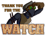 Thanks For The Watch! by Brother-Orin