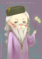 Chibi Albus Dumbledore by KarlaFrazetty