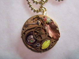 Autumn Colors Watch Movement by mymysticgems
