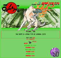Okami Journal CSS Design by AESD