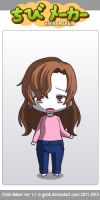 ChibiMaker Mary's reaction to Sam getting hurt by tigerclaw64
