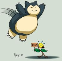 Body Slam Snorlax by WillPetrey
