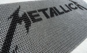 Metallica inlay by S-Chainmaille