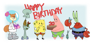 Happy Birthday Spongebob! by Waackery