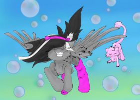 Mew Used Bubble: MewFansUnite Contest Entry by MayEsdot