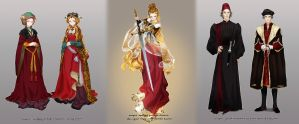 Medieval Clothing - Low countries by JaneMere