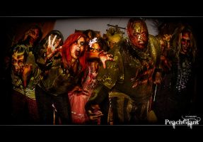 Zombies by PeachGiant