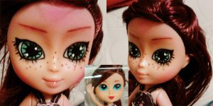 tiny doll gets DAL makeover by hellohappycrafts
