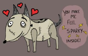 Happy Valentine's Frankenweenie! by Queenaroo