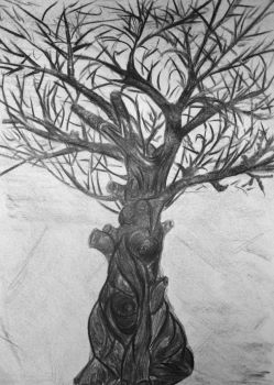 Tree of human power by HelaLe