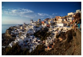 Santorini by WarrenBodnaruk