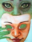 My Face is a Mask by Amnevitah