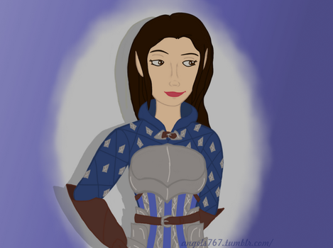 Grey Warden by FireandWater258