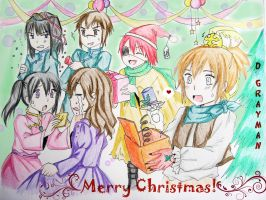 Christmas Contest :DGM Party: by alpha-Ikaros