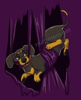 Tangled Wiener by Greykitty