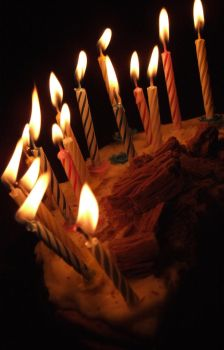 Birthday Cake Candles by FelicityCharlottex