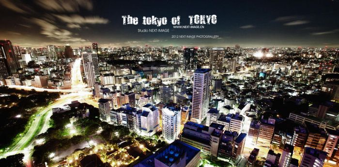 The tokyo of Tokyo by Sailszhuang
