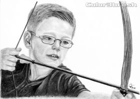 the young bowman by Color3brush