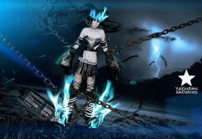 Black Rock Shooter Beast chain by yukigodbless