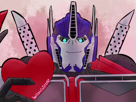 Optimus for Valentines by VanillaREM