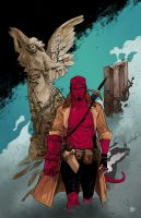 Hellboy by Ben-Wilsonham
