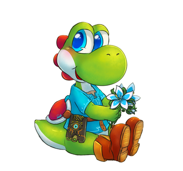 Legend of Yoshi of the Wild by CutieClovers